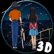 3d shooting star couple