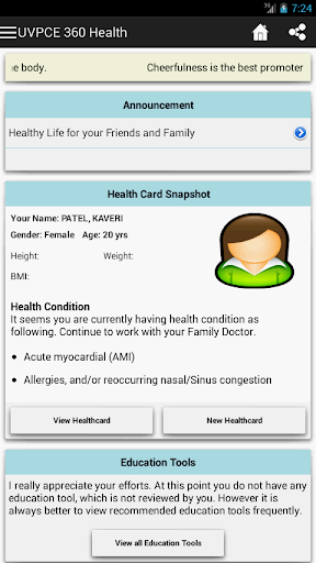 UVPCE 360 Health
