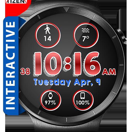 Line Face HD Watch Face Widget & Live Wallpaper Icon