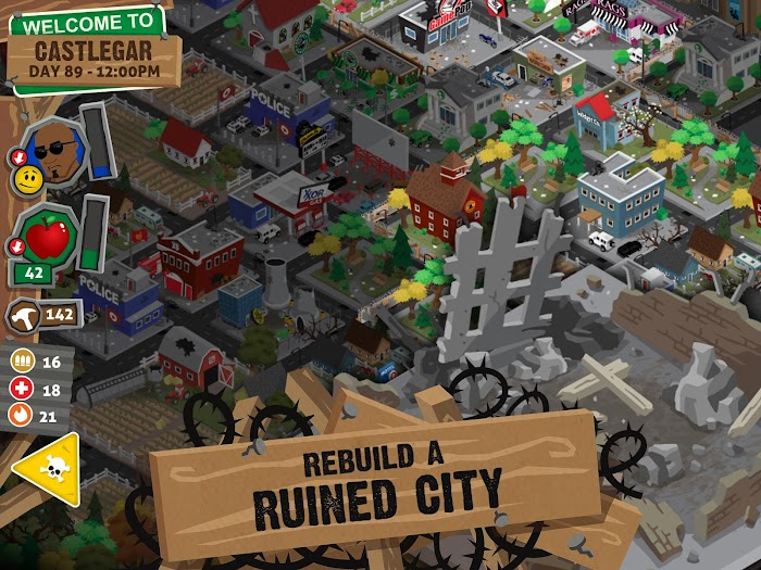 Rebuild 3: Gangs of Deadsville- screenshot