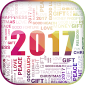 Happy New Year 2017 in French