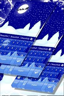 Christmas Spirit Keyboard Skin - náhled