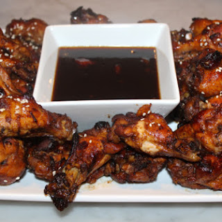 Slow Cooker Maple Balsamic Chicken Wings