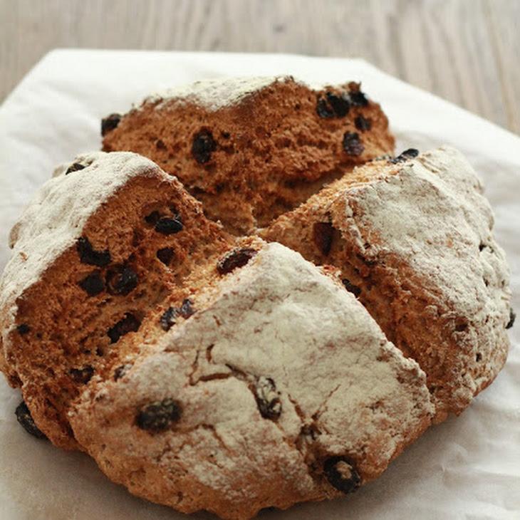 Irish Bread with Raisins Recipe