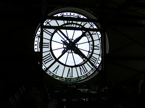 Photo: The inside-out view of one of the museum's large clocks.