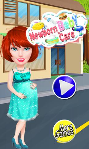 android Newborn Baby Care - baby games Screenshot 0
