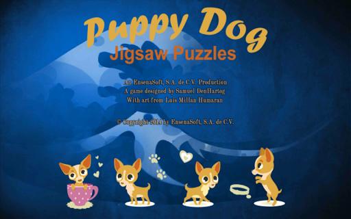 Puppy Dog Jigsaw Puzzles
