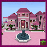 Map Pink Princess House for MCPE