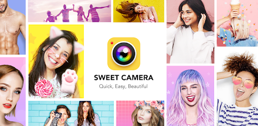 Sweet Camera - Selfie Filters, Beauty Camera Apps (apk) baixar gratuito para Android/PC/Windows screenshot