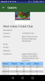 Clubinfo- screenshot thumbnail