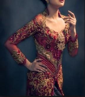 vestido de la manera Kebaya Gratis