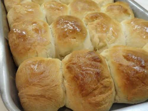 "Pat ""Mom's"" Yeast Rolls ""I have been baking bread since I was..."