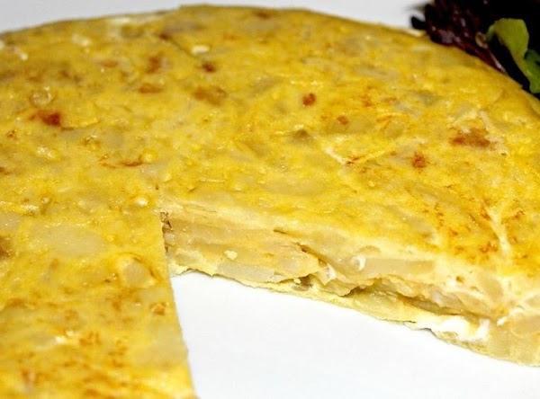 Potato, Onion & Egg Omelet (frittata) Recipe