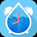 水日記飲料 - 水のアラームを icon