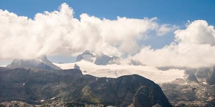 Photo: Detail Dachsteinu (bohužel jsem si nepohlídal kompozici, takže je to dole dost uříznutý :-(