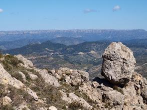 Photo: El Montsant des del Portell de la Cova
