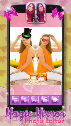 android Magic Mirror Photo Editor Screenshot 1