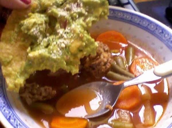 Albondigas Soup (meatball Soup) Recipe