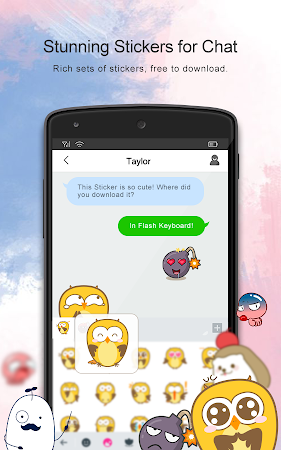 Flash Keyboard - Emojis & More 1.0.10100.1205 screenshot 625785