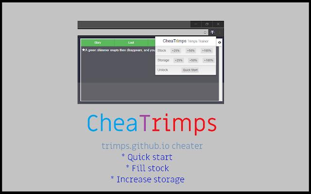 [Beta] CheaTrimps - Trimps Trainer