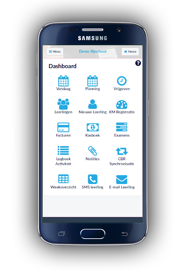 PlanRijles App- screenshot