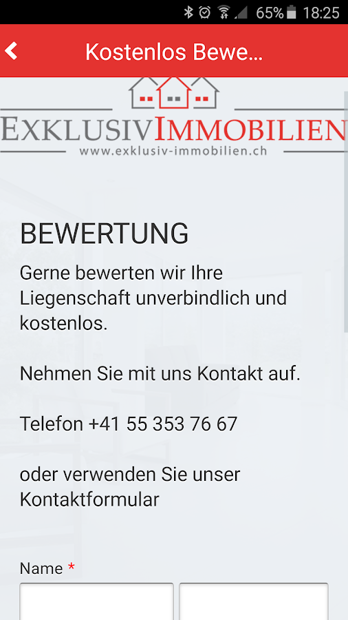 Exklusiv Immobilien GmbH- screenshot