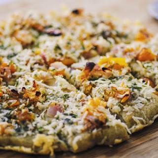 Quinoa Flatbread Pizza Crust (Gluten Free, Vegan).
