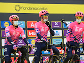 Alberto Bettiol met licht streepje voor op Vanmarcke bij EF in Ronde van Vlaanderen