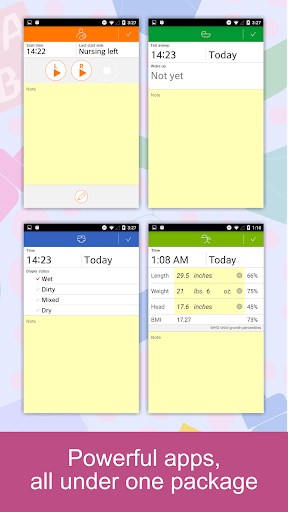 Baby Tracker - Newborn Feeding, Diaper, Sleep Log Screenshot