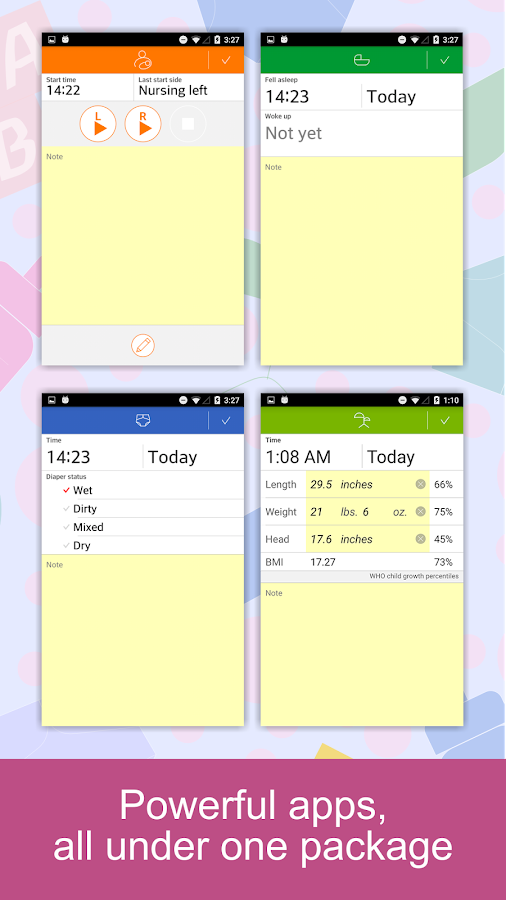 Baby Tracker - Feed,Diaper Log- screenshot