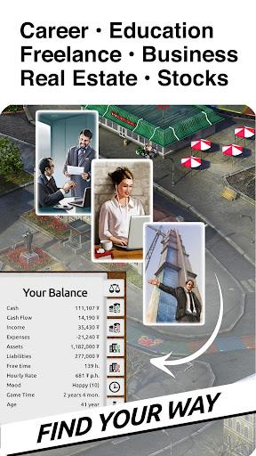 Timeflow: Time and Money Sim screenshots 2