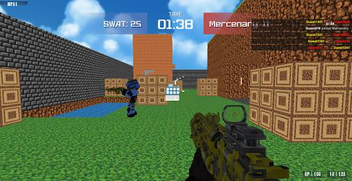 Advanced Blocky Combat SWAT apkpoly screenshots 16
