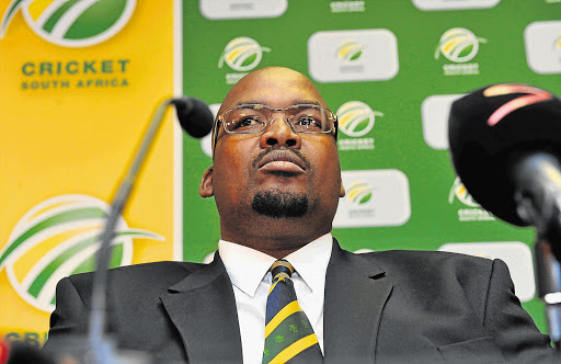 Cricket South Africa President Chris Nenzani.
