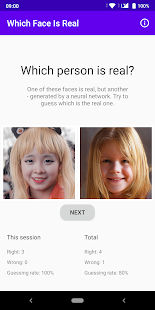 Download Which Face Is Real - distinguish real/AI generated For PC Windows and Mac apk screenshot 1