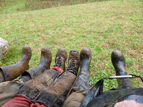 Photo: Out muddy boots!