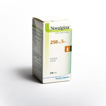 Novalgina 250Mg/5Ml