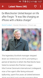 Manchester United News - Man United Daily News for PC-Windows 7,8,10 and Mac apk screenshot 4