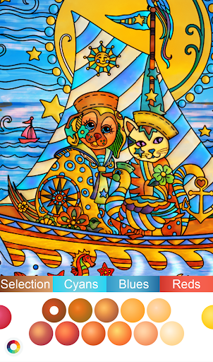 Color by Number - New Coloring Book modavailable screenshots 4
