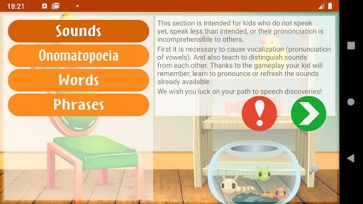 Speech therapy for kids and babies 20.1.5 screenshots 1
