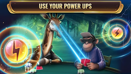 Wild Poker: Texas Holdem Poker Game with Power-Ups 4