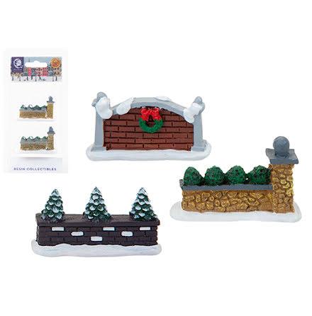 Murar i miniatyr, tre utföranden - Mini world