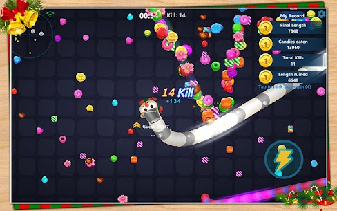 Snake Candy.IO – Multiplayer Snake Slither Game 9