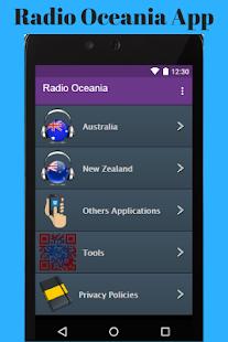 Radio Oceania App - náhled