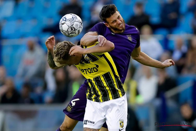"""Hoedt zag Anderlecht zichzelf zwaar tekort doen: """"Anderlecht moet terug naar waar het hoort. En dat is ook de Conference League niet"""""""