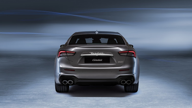 Despite being equipped with a four-cylinder motor, Maserati promises glorious noises coming out of the quartet of pipes.