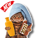 New Funny Cat Stickers For WhatsApp WAStickerApps icon