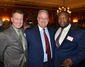 Photo: Former Corporation Counsel Bill Sinnott, David Keenan (Candidate for Register of Probate, Suffolk County), and Marcus Hughes (City of Boston Law Department).
