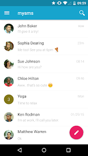 mysms SMS Text Messaging Sync App Download For Android and iPhone 2