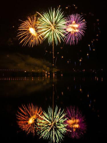 Fireworks 2012 in Pilsen 2 by Martin Zenisek - Abstract Fire & Fireworks ( mirror, water, fireworks, night,  )