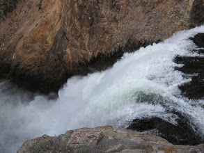 Photo: Brink of the Lower Falls
